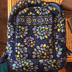 Vera Bradley blue backpack